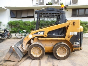skid loader cat 226